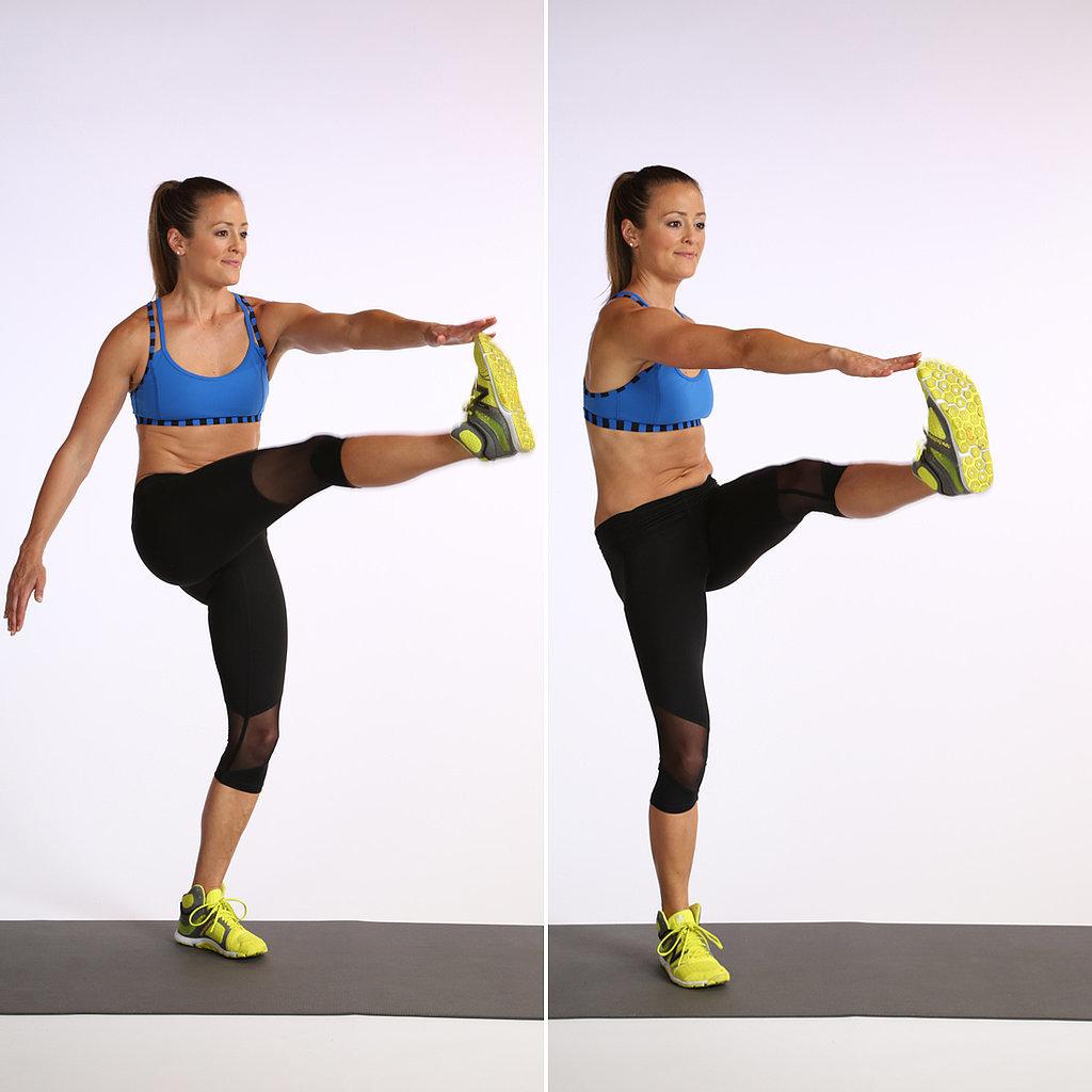 Kick Workout Kick Crunch Flat-belly Workout