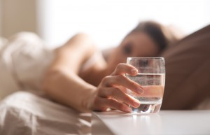 This Is Why You Drink A Cup Of Water Right Before You Go To Sleep