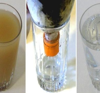 Make Your Own Water Filter at Home That Costs Less Than A Dollar and Drink Fresh and Crystal Clear Water at Any Time