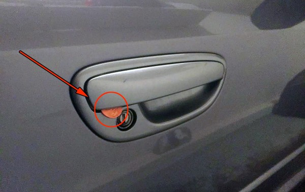 If You See A Penny Placed In Your Car Door Handle, THIS Is What It Means!