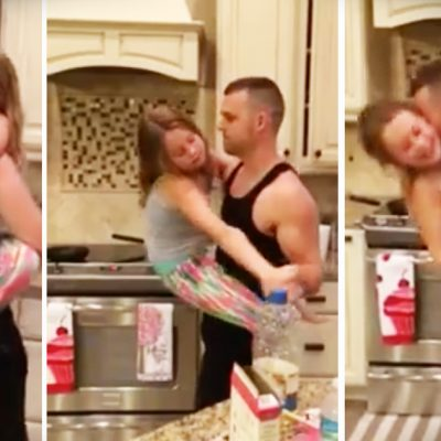 Mom Thinks Dad & Daughter Are Cooking Breakfast – When She Sees THIS, She's Knocked Breathless