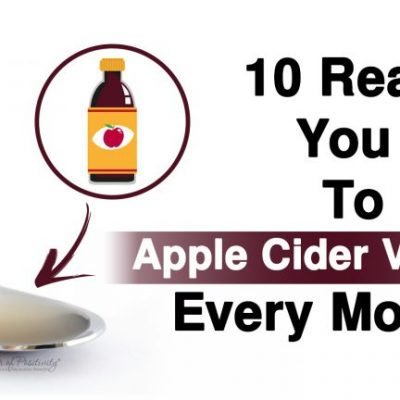 10 Reasons You Need To Drink Apple Cider Vinegar Every Morning