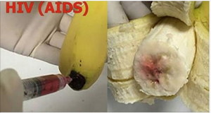 BANANAS ARE BEING INJECTED WITH THE HIV VIRUS?!