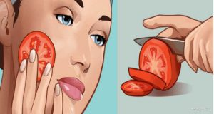 Rub a Freshly Cut Tomato on Your Face for a Minute. Here's The Incredible Effect!