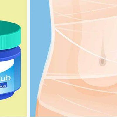 Use Plastic Wrap and Vicks VapoRub to Tighten Your Tummy