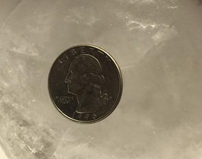 WHY YOU SHOULD ALWAYS LEAVE A COIN IN THE FREEZER BEFORE YOU LEAVE HOME
