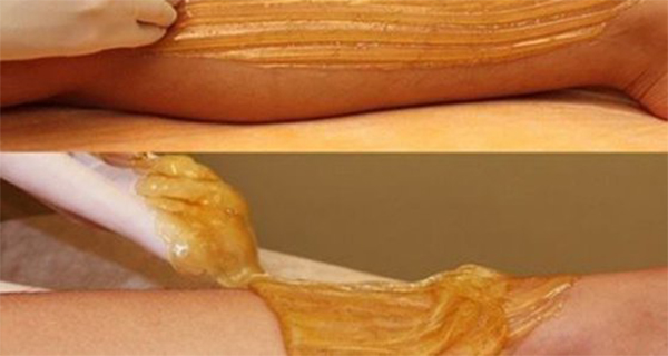 how to make a sugar paste for hair removal